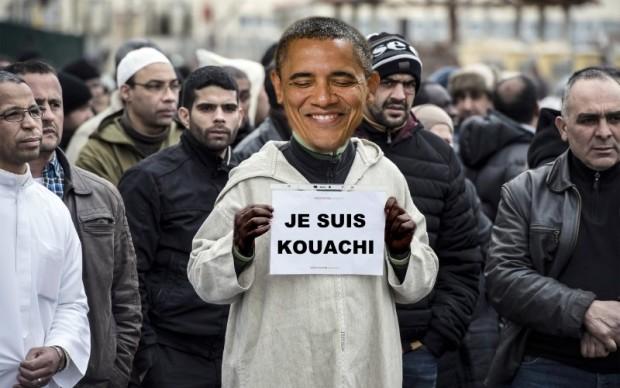 Obama muslims blame jews for charlie hebdo massacre