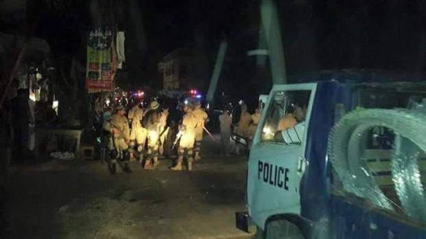 Pakistan Muslims attack Christians