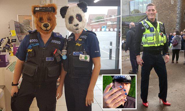 officers parade   bear costumes paint  nails 636 x 382 · jpeg