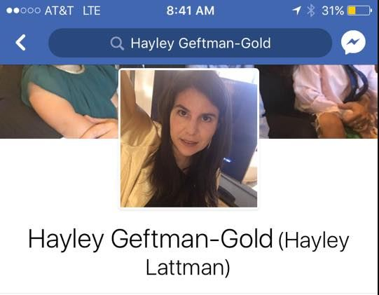Image result for Hayley Geftman-Gold