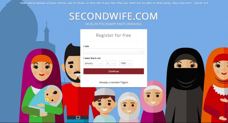 Muslim polygamy dating site