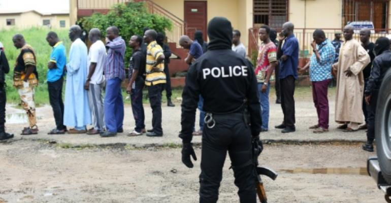 Image result for Police begin investigations into Islamist knife attack in Gabon
