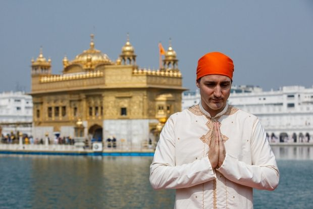 trudeau deals with fallout from disastrous india trip. Black Bedroom Furniture Sets. Home Design Ideas