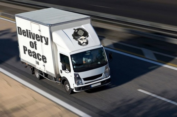delivery-of-peace-truck-islam-vehicle-te