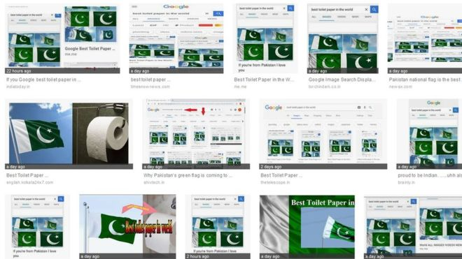 Google Searches Hijacked To Link Pakistan Flag To Toilet