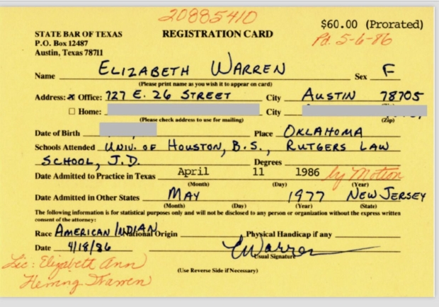elizabeth-warren-indian-legal-license-Co